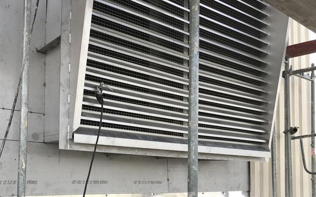 Installation of Air Intake Unit