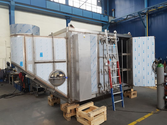 Main Steam Air Heater incl. Electrical Heater and Air Filtration