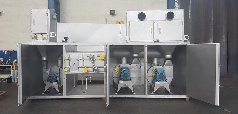 Compact Heat Exchanger Unit