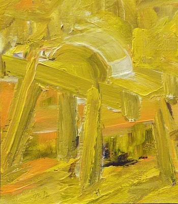 Döben 13, 16x14, Acryl auf Papier, 2017