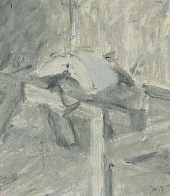 Döben 3, 16x14, Acryl auf Papier, 2017