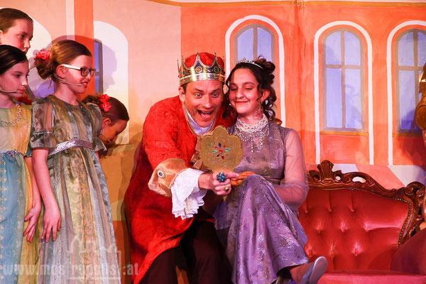 Die Goldene Gans König und Prinzessin ULK Uraufführung