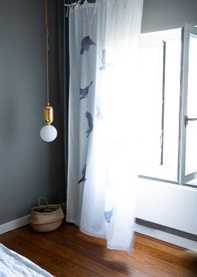 Vorhang Amsel