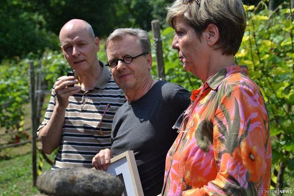 von links: Ralf Liebau, Heribert Burkert, Barbara Hermann