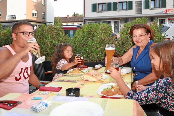 Griechischer Biergarten