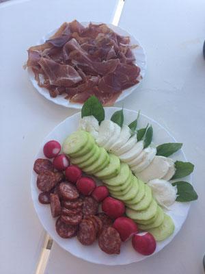 kroatisches Mittagsessen