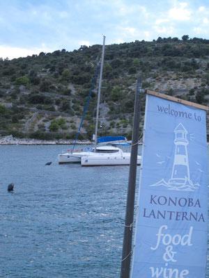 Angekommen in der Bucht Sicenica