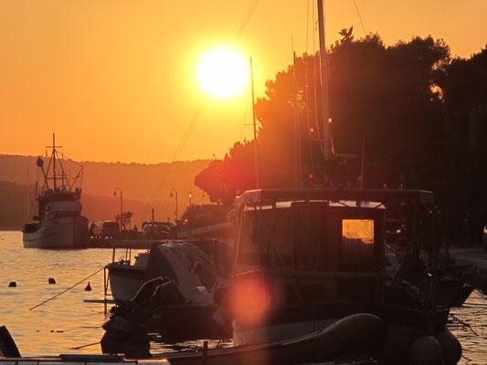 und der obligatorische Sonnenuntergang
