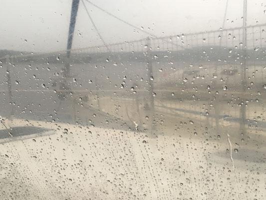 keine schönen Aussichten - it rained 6cm !!! in 5 hours