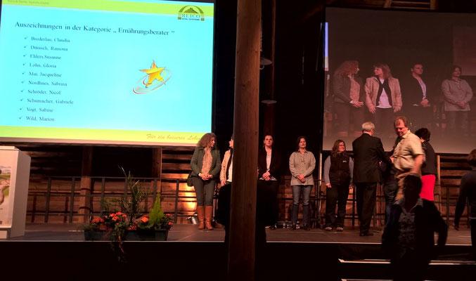 Auszeichnung Susanne Ehlers und Marion Wild - Herzlichen Glückwunsch!