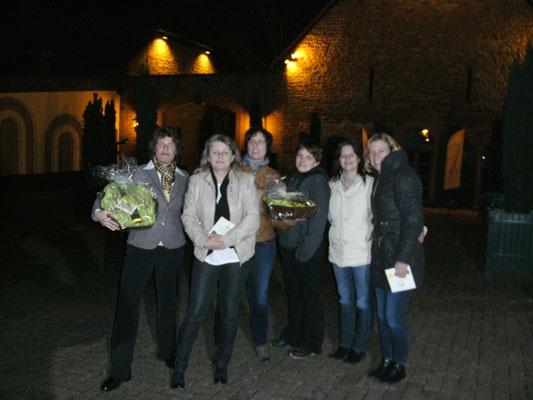 Abschlussfoto: Clarissa Schallner, Susanne Ehlers, Kerstin Stolz, Vanessa Strangmeyer, Marion Wild, Stefanie Hegmann