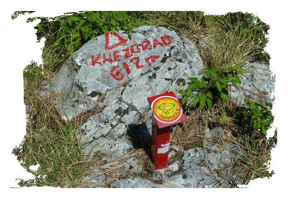 Knezgrad 612m, Kroatien