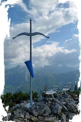 Eibenberg 1598m (Neues Gipfelkreuz Juni 2011)