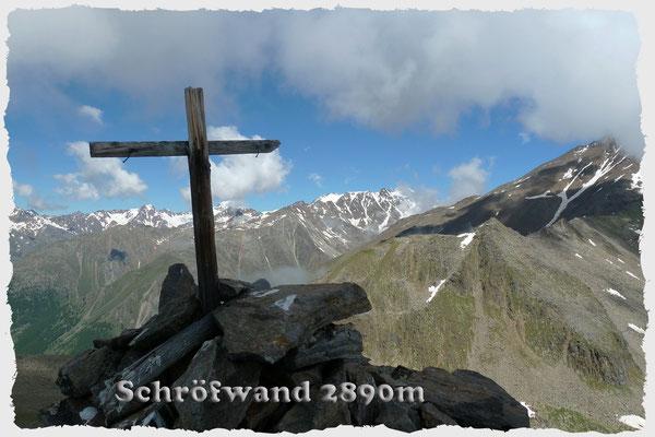 Schröfwand (Hauptgipfel) 2890m