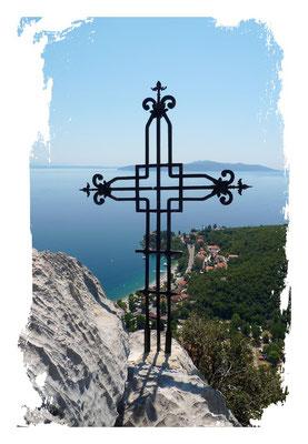 Unbekannter Gipfel über Medveja (Kroatien)