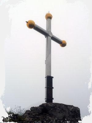 Kranzhorn 1368m (deutsches Gipfelkreuz)