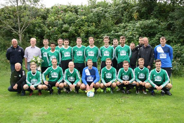 Mannschaftsfoto 1. Herren SV Burweg, September 2017