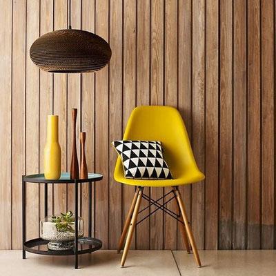 Chaise imaginée par le designer Charles Eames durant les années 1940