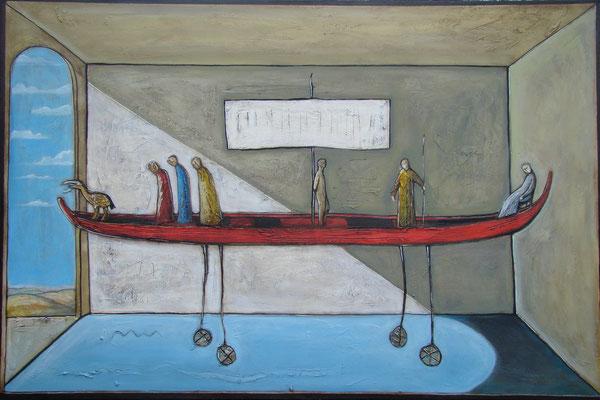 Narrenschiff_150 x 100 cm_2016 (Atelier Karwe)
