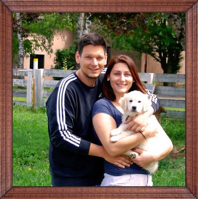 Vivienne mit Familie