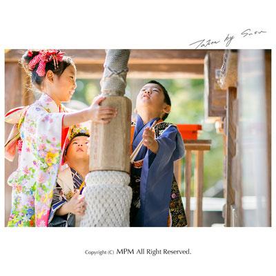 七五三写真 京都