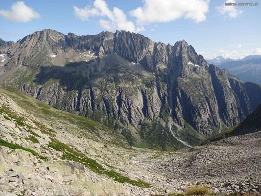 Blick von der Bergseeschijenlücke