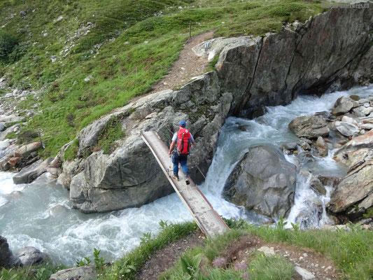 Brücke über Voralpreuss