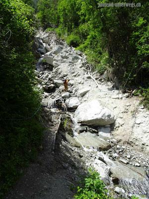 Wanderweg von Combioula nach Vex
