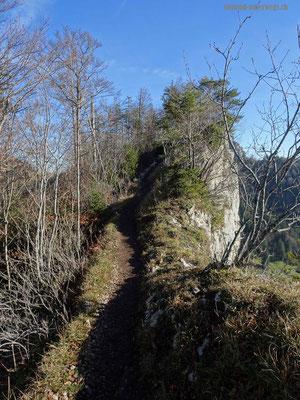 Wanderweg vor Küferegg