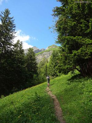 Aufstieg Stellihorn