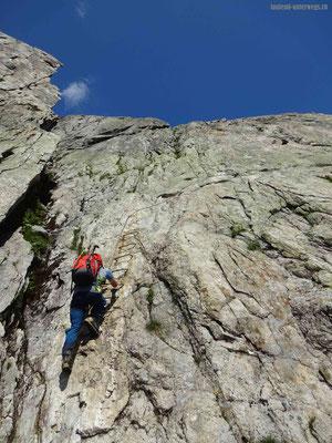 Abstieg von der Bergseeschijenlücke