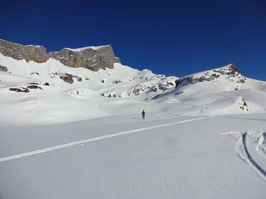 Abfahrt zur Lidernenhütte