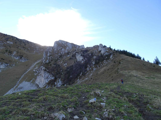 Aufstieg von Ober Recardets nach Patraflon
