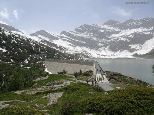 Staumauer Lac de Salanfe