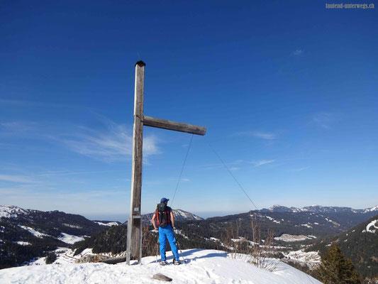 Gipfelkreuz Riedmattstock