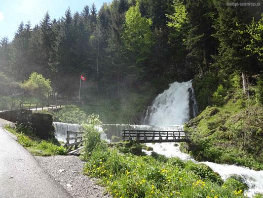 Wasserfall Jaun