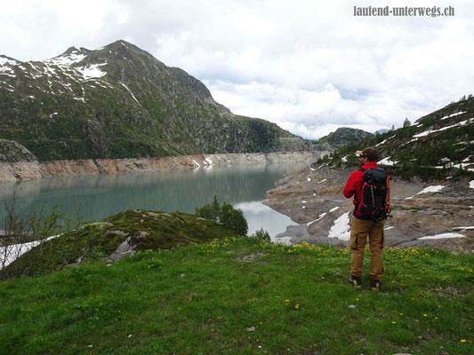 Blick auf den Lac d'Emosson