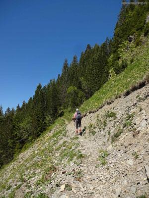 weiss-rot-weisser Wanderweg