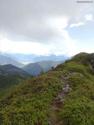 Abstieg über Grat