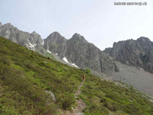 Wanderung auf den Col de la Golette