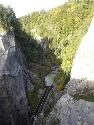 Blick von der Staumauer