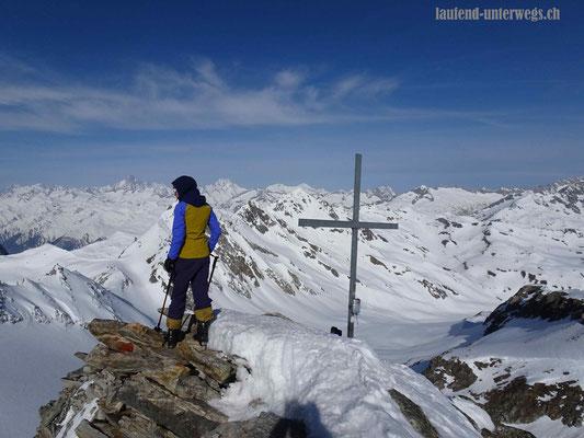 Gipfelkreuz Gross Leckihorn