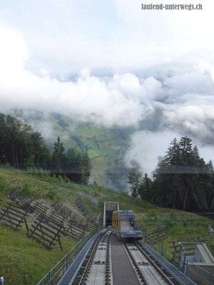 Stoosbahn (steilste Standseilbahn der Welt)