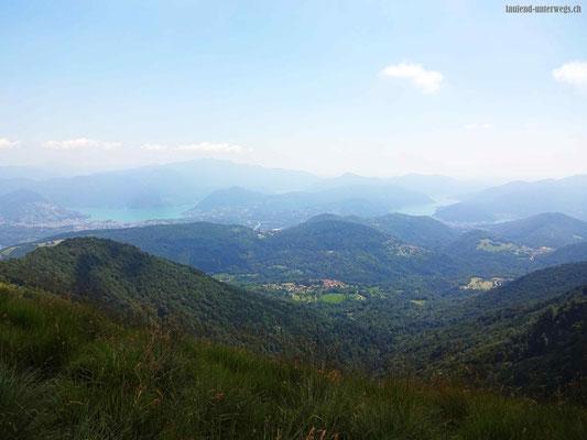 Blick auf den Lago di Lugano