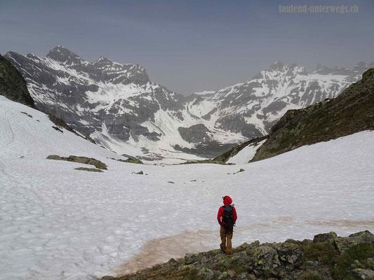 Sicht vom Col de la Golette