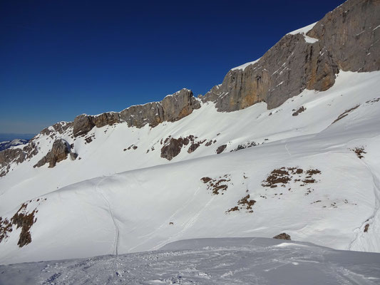 Sicht auf den Chaiserstock (Westflanke)