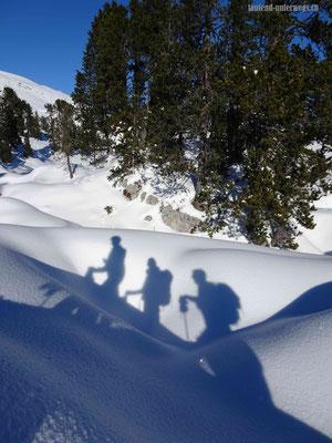 Drei Könige im Schnee :-)