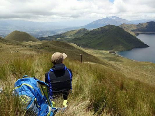 Zmittag auf dem Cerro Colangal