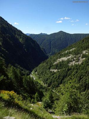 Blicks ins Valle della Camana