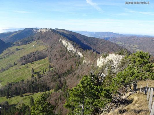 Blick auf Grenchenberg